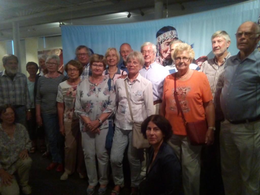 Schamanen-Ausstellung  Führung am 14.08.2018